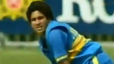 On This Day: When Sachin Tendulkar Scored His First Runs in ODIs vs New Zealand in 1990