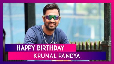 Happy Birthday Krunal Pandya: Things To Know About Mumbai Indians' All-Rounder