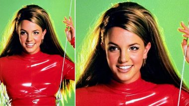 Britney Spears Recalls Wearing the Red Catsuit As She Celebrates 20 Years Of 'Oops I DIid It Again'