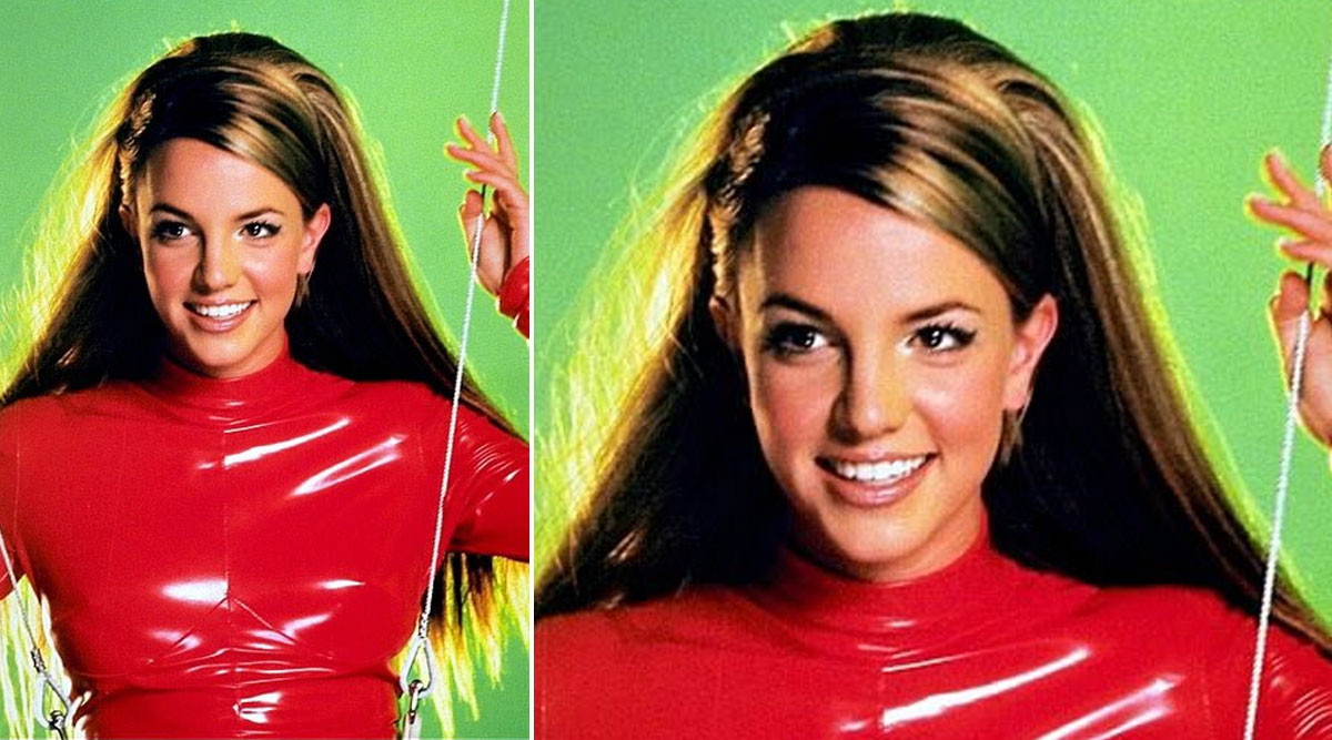 Britney Spears Recalls Wearing the Iconic Red Catsuit As She Celebrates 20 Years Of ''Oops! I Did It Again''