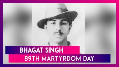 Bhagat Singh 89th Martyrdom Day: Remembering Shaheed-e-Aazam With His Memorable Quotes