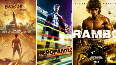 Tiger Shroff Birthday Special: Every Upcoming Movie of Bollywood's Charismatic Action-Hero