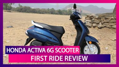 Honda Activa 6G Scooter First Ride Review: Is It the Best 110cc Scooter in India?
