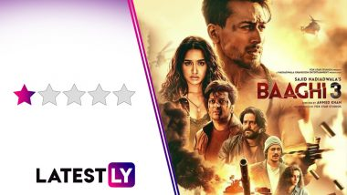 Baaghi 3 Movie Review: Despite the Kabooms & Shraddha Kapoor's Censored Abuses, Tiger Shroff's Action Film Is D…Duh…Dull!
