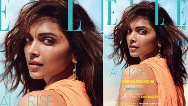 Deepika Padukone's Sensuous Stare on Elle India's Magazine Cover Will Make Boys Go Weak in their Knees (View Pics)