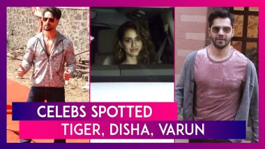 Tiger Shroff, Disha Patani, Varun Dhawan & Others Seen In The City I Celebs Spotted