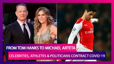 From Tom Hanks To Mikel Arteta, Celebrities And Politicians Not Spared The Coronavirus Bug