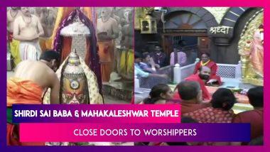 Shirdi Sai Baba, Mahakaleshwar Temple, And Other Places Of Worship Close Their Doors Over Coronavirus Outbreak
