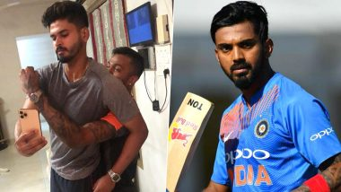 Shreyas Iyer and Hardik Pandya Share Fun Activity on Instagram, KL Rahul Reminds Them to Wash Hands Amid Coronavirus Outbreak