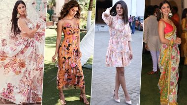 Katrina Kaif, Disha Patani, Priyanka Chopra and Others Show You Why Floral Fashion Is Always a Hot Trend in Summers (View Pics)