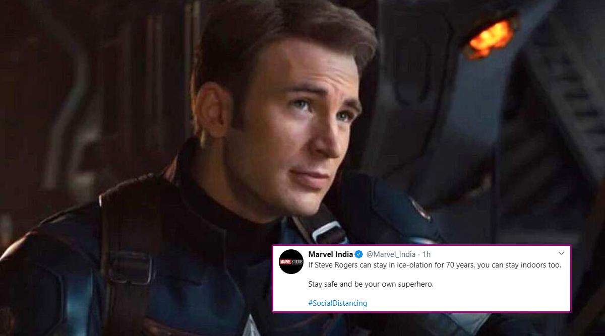 Let Steve Rogers'70 Year 'Ice-olation' Inspire You to 'Isolate' Amid Coronavirus Pandemic Say Marvel India!