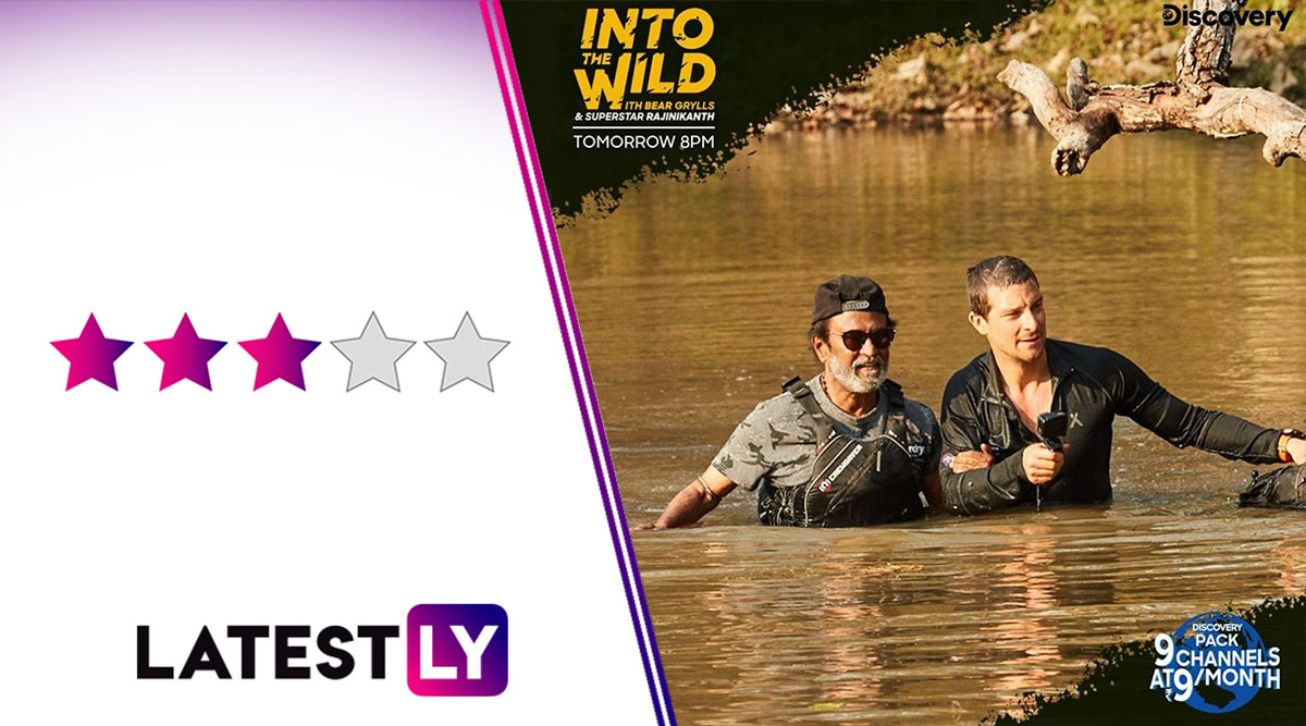 Into the Wild With Bear Grylls and Rajinikanth Review: Getting Closer to the Real Thalaiva Is More Exciting Than the Adventure