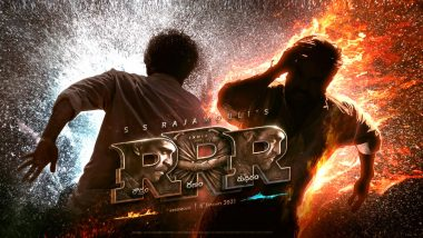 RRR: The Motion Poster of JR NTR and Ram Charan's Next with SS Rajamouli Serves as the Perfect Ugadi Treat for all their Fans