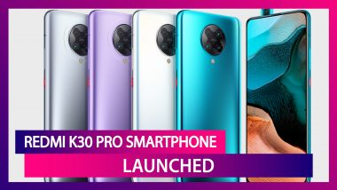 Redmi K30 Pro Flaunting A 64MP Quad Rear Camera Launched; Check Prices,Variants, Features & Specifications