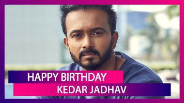 Happy Birthday Kedar Jadhav: Things To Know About Indian All-Rounder