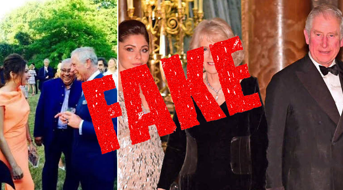 Did Prince Charles Contract Coronavirus from Kanika Kapoor During Her UK Visit? Here's The Fact Check Of The Viral Pictures