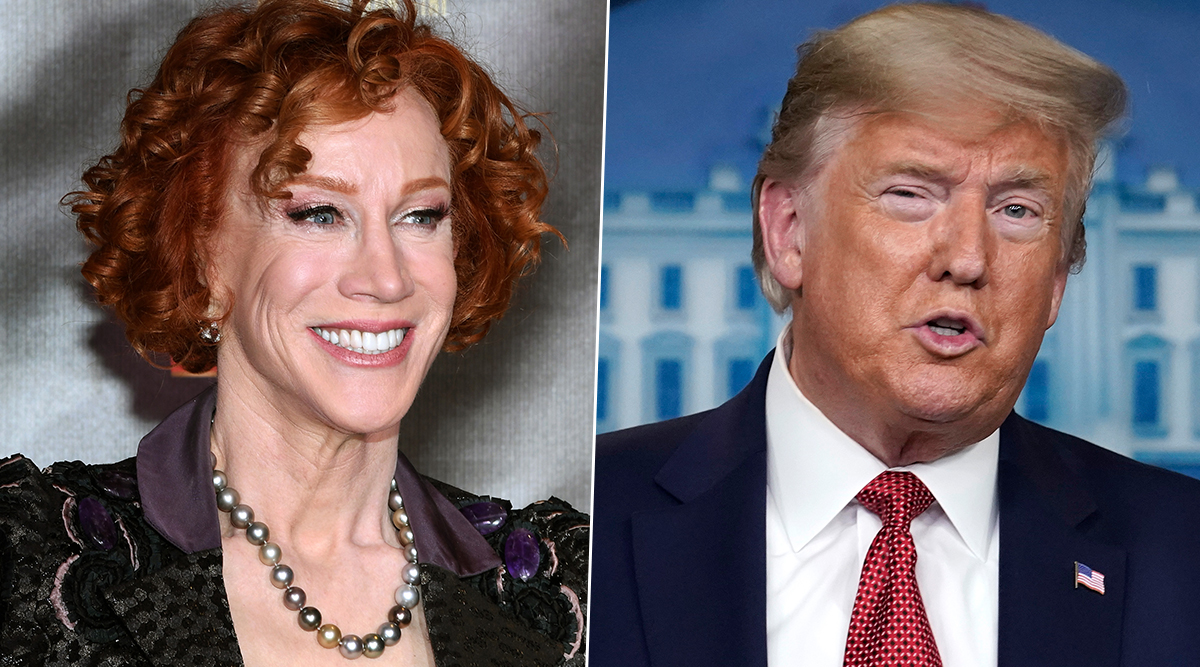 Kathy Griffin Blasts Out at Donald Trump for His COVID-19 Testing Post, Says She Can't Get Tested Despite the Unbearably Painful Symptoms