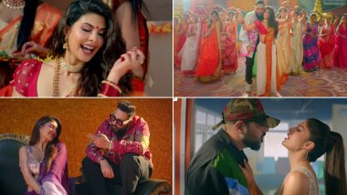 Genda Phool Music Video: Jacqueline Fernandez is 'Yay', Rest Everything is 'Nay' in this Badshah and Payal Dev's Track (Watch Video)