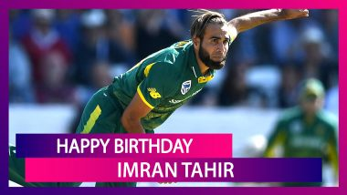 Happy Birthday Imran Tahir: Interesting Things To Know About South African Leg-Spinner