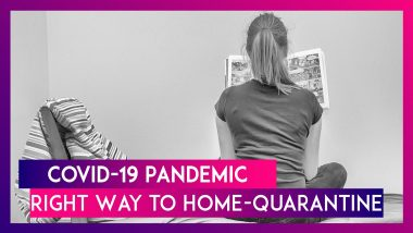 COVID-19 Pandemic: Self-Isolation & Quarantine Is Not The Same, Here's How To Home-Quarantine