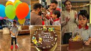 Ahil Sharma Turns 4! Salman Khan and Family Ring In His Birthday With a Fun Bash (View Pics)