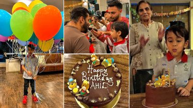 Ahil Sharma Turns 4! Here are Inside Pictures From Salman Khan's Nephew's Birthday Bash
