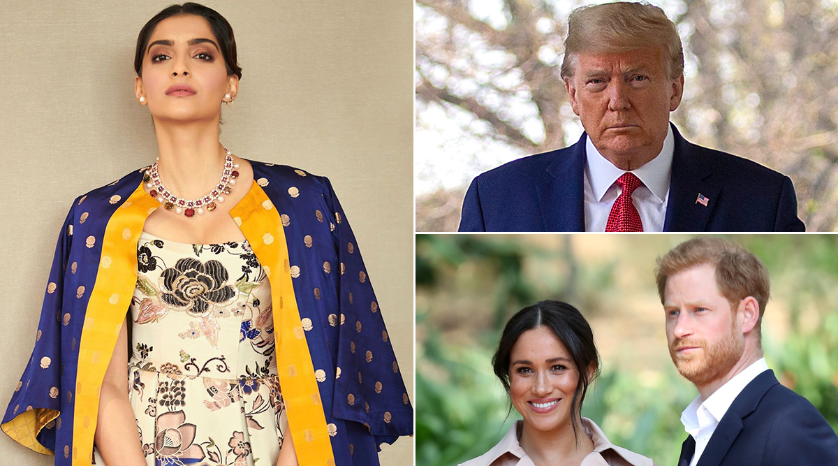 Sonam Kapoor Reacts to Donald Trump's Tweet About Meghan Markle and Prince Harry, Says 'Americans Must Be So Embarrassed Right Now'