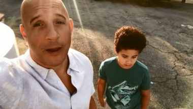 Vin Diesel's Son Vincent Sinclair Believes That There Is One Good Thing About This COVID-19 Crisis and You Might Agree With Him