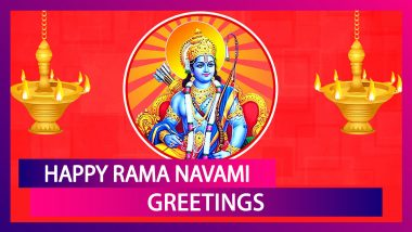 Rama Navami 2020 Greetings: WhatsApp Messages, Lord Rama Photos & Wishes to Send to Family & Friends