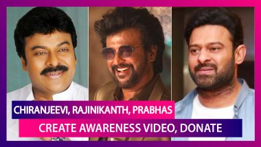 Chiranjeevi, Nagarjuna Create Awareness Video; Rajinikanth, Prabhas Donate Amid COVID-19 Crises