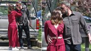 Ben Affleck and Ana de Armas Spotted Kissing and Cuddling While Walking Their Dogs in an Afternoon Stroll (View Pics)