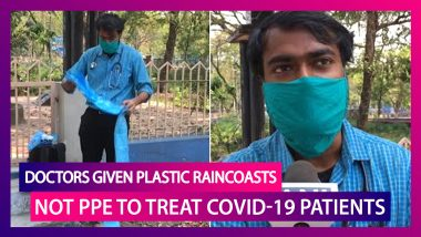 COVID-19: Doctors In WB Given Plastic Raincoats, Sunglasses Instead Of Personal Protective Equipment