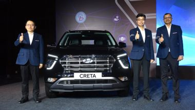 Hyundai Motor India Ltd Says It Has Received Over 55,000 Bookings for Recently Launched All New Version of Creta