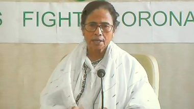 Mamata Banerjee Donates Rs 5 Lakh Each to PM National Releif Fund, West Bengal State Emergency Fund to Fight Coronavirus Pandemic