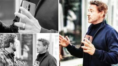 OnePlus 8 Pro Captured in Hands of Robert Downey Jr; Tipped To Launch on April 15; View Pic