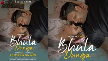 Bhula Dunga: Sidharth Shukla and Shehnaaz Gill's Music Video to Release on March 24, 2020