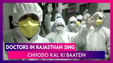 Rajasthan Lockdown: Doctors Sing 'Chhodo Kal Ki Baatein' To Keep Up Everyone's Spirits