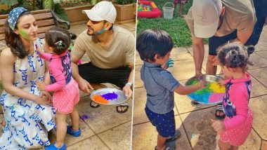 Kunal Kemmu Reveals He Played Holi After 12 Years, Thanks to Princess Daughter Inaaya (View Pic)