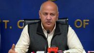 Delhi Govt Seeks Rs 5000 Crore From Centre Under Disaster Relief Fund, Deputy CM Manish Sisodia Says 'Delhi is Facing Financial Issues'
