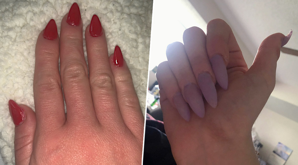 Women on Twitter Are Flaunting Manicure Done on Their Own Amid Coronavirus Lockdown! Here's How You Can Get Amazing Nails at Home (Watch Tutorial Video)