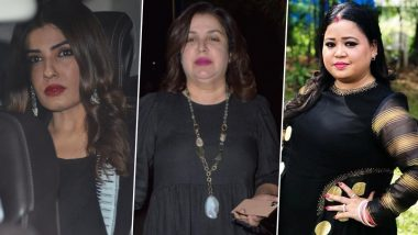 Raveena Tandon, Farah Khan and Bharti Singh Gets a Sigh of Relief As Punjab and Haryana HC Order Not to Take 'Coercive Steps', Next Hearing on March 25