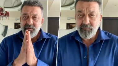 Sanjay Dutt Pleads With Folded Hands Asking Fans to Follow Government's Lockdown to Combat COVID-19 (Watch Video)