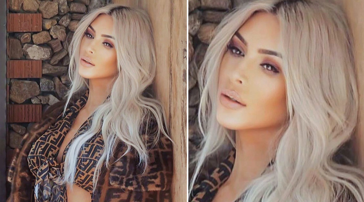 Kim Kardashian Wants to Go Blonde Again and This Throwback Pic Says It All