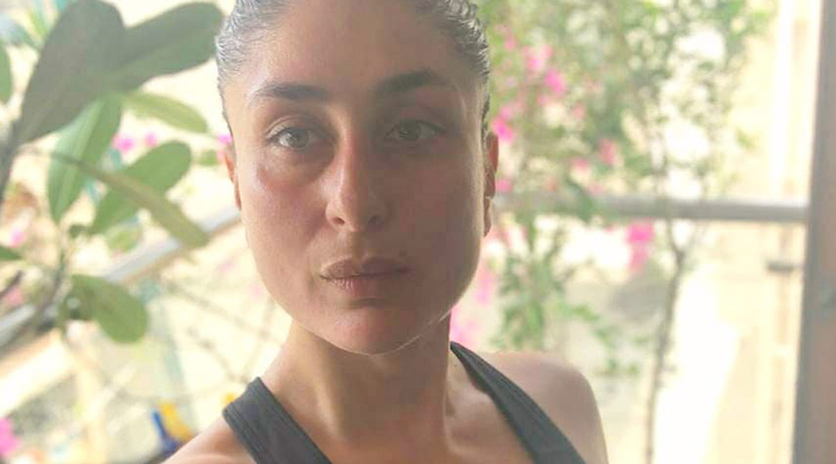 Kareena Kapoor Shares Her Workout Pout After Gymming, Says 'It's a Thing Really' (View Pic)