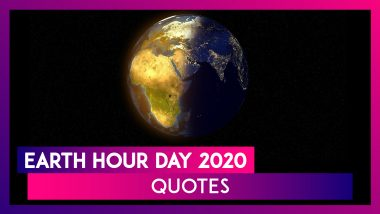 Earth Hour Day 2020 Quotes: Inspirational Sayings to Show You Care For the Planet