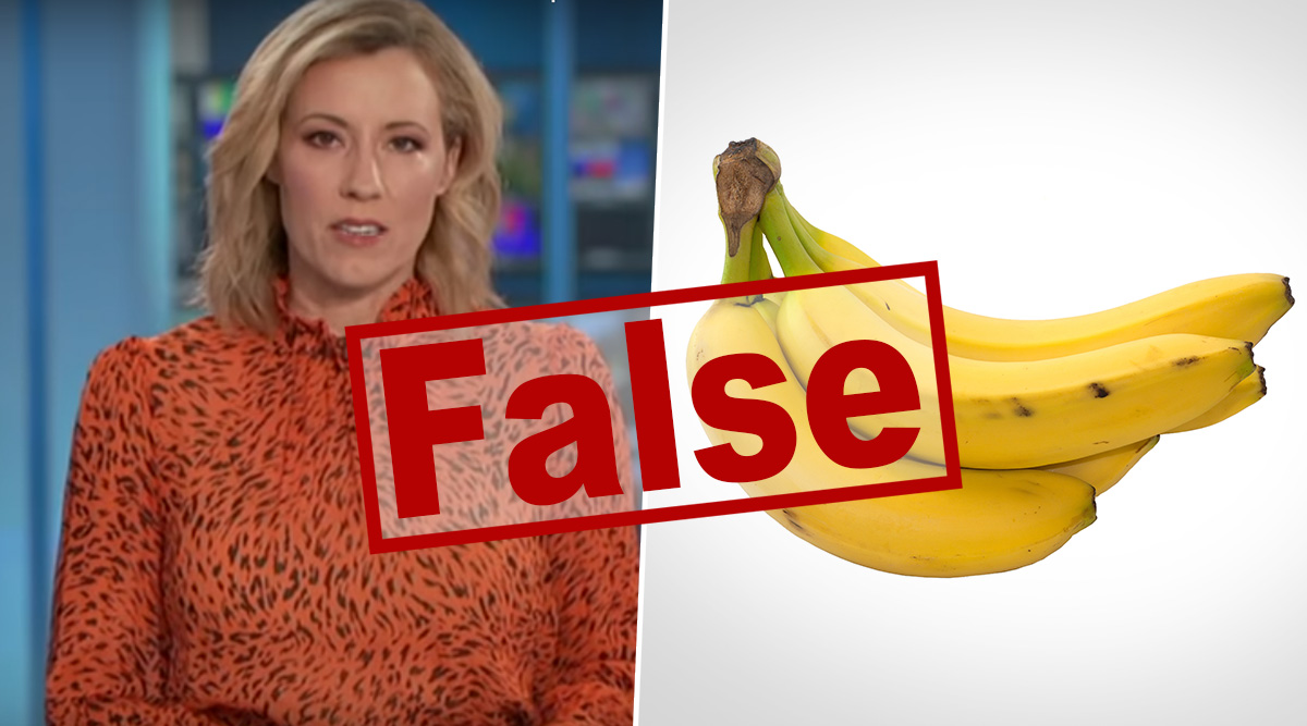 Fact Check: Bananas Prevent Coronavirus Infection? Viral Video Claiming Australian Research Stated Bananas Can Help Prevent COVID-19 Is FAKE; Here's the Truth