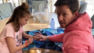 Mark Wahlberg Gets A Cute Quarantine Makeover From His Daughter Grace And Even Queer Eye Got Nothing On Her
