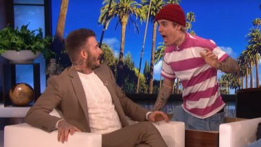 When Justin Bieber Tried to Scare David Beckham and Here's How He Reacted (Watch Video)
