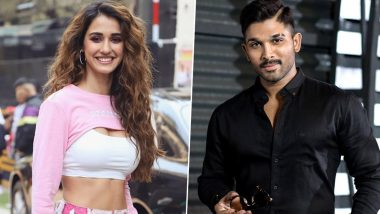 Disha Patani Asks Allu Arjun About His Stylish Dance Moves, Telugu Star Reveals the Secret Behind It
