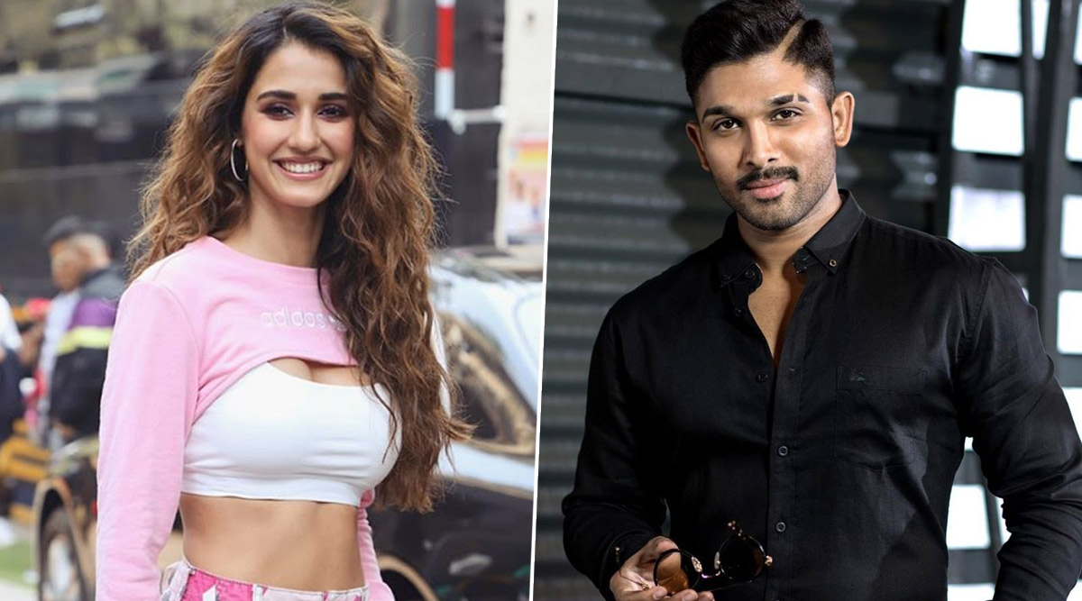 Disha Patani Asks Allu Arjun About His Stylish Dance Moves, Telugu Star Reveals the Secret Behind It